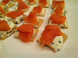 Smoked Salmon | Chive Creme Fraîche | Grain-Free Crackers